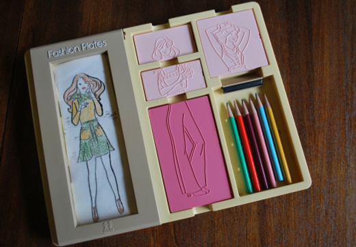 Barbie Fashion Plates Toy Before Fashion Plates