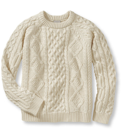 FISHERMAN FREE IRISH KNITTING PATTERN SWEATER   KNITTING PATTERN
