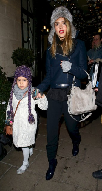 Jessica Alba & daughter