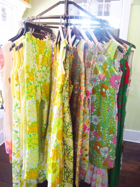 vintage lilly pulitzer dresses on rack natucket cococozy